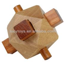 Fisch Torpedo Holz 3d Puzzle Gehirn Teasers