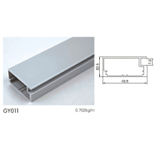 Perfil de alumínio para armário de cozinha usado