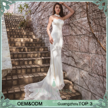 Simple elegant wedding dresses wedding gown bridal party gowns fish cut bride dress