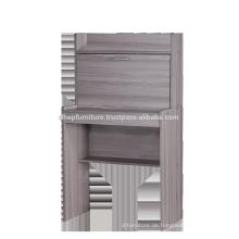 Holztisch mit Seitenschrank