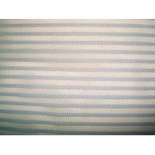 Tissu à tricoter à rayures