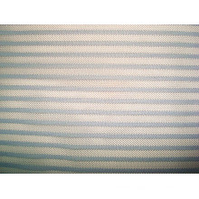 Stripe Mesh Knitting Fabric