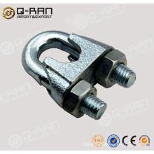Clip de cuerda de alambre de U.S.type galvanizado maleable cable clip