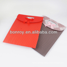 Red Gift paper bags from China Factory