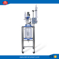 20L Jacketed Chemical Glass Polymerization Reactor