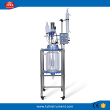 20L Lab Jacketed Glass Polymerization Reactor
