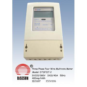 Electric Meters,Multirate Meters with Three Phase Four Wire