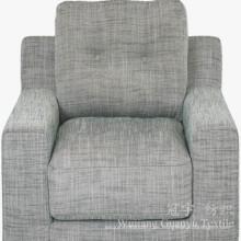 Compuesto 100% de la tela del tacto del lino del poliéster para el sofá
