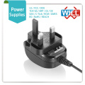 Factory Wholesale 17v 24v 1.5a direct plug-in ac UK power adapter