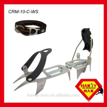 CRM-10-C 10 Points Steel Hybrid Ice Traction Crampons