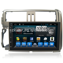 2 din Combination Octa Core Android 8.0 Car DVD GPS Multimedia for Toyota Prado150 2010 2012 Touch Screen Interface with TV Box