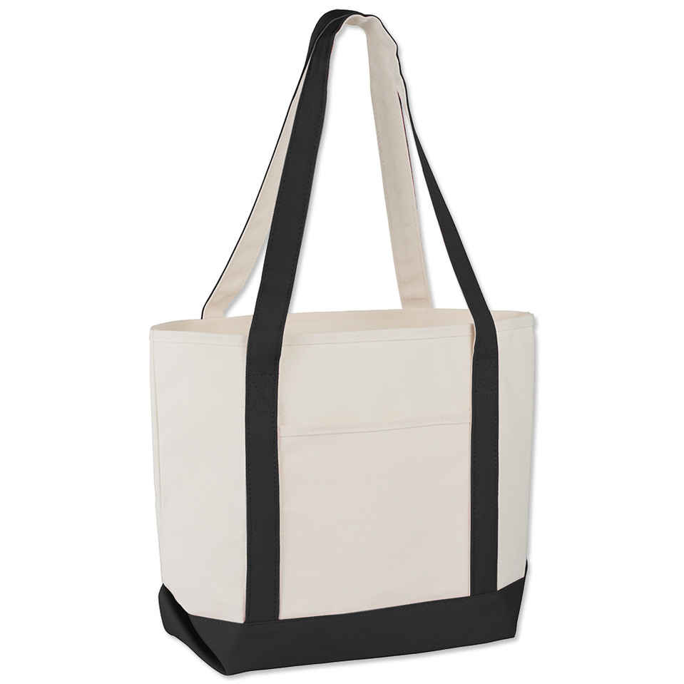 Top canvas bag