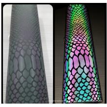 vinyle réfléchissant coloré de transfert de chaleur d'arc-en-ciel pour des vêtements
