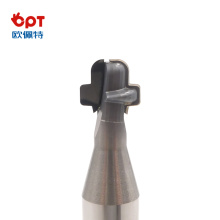 PCD vacuum material forming cutter for fishing lures