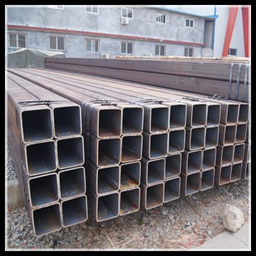 Struktur keluli SS400 SSW MS Rectangular Steel Pipe