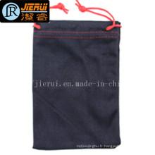 Le sac à cordes en microfibres le plus populaire pour le téléphone d'emballage