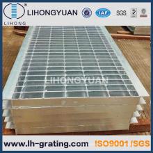 Râpage de tranchée de la couverture de plancher d'acier galvanisé tranchée