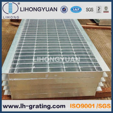 Galvanised Trench Steel Grating Trench Cover Floor
