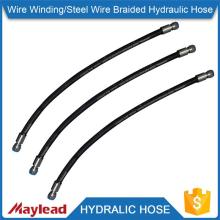 High pressure heat resistance 4 inch rubber hydraulic hose                                                                                                         Supplier's Choice