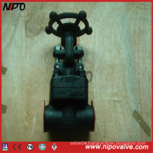 Forged Steel A105 Thread Fnpt Gate Valve