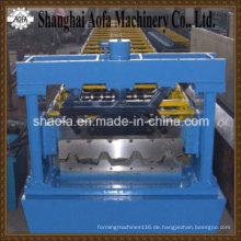 Trapezförmiges Dach-Blatt-kaltes Walzprofilieren-Maschine (AF-R1000)