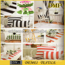 types of woven striped upholstery fabric
