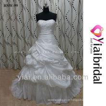 RSW99 Ballkleid dropped Taille Hochzeitskleid