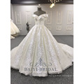 Atacado Com Decote Em V Brilhante Lvory Muçulmano Vestido de Baile Plus Size 2018 Vestido De Casamento Alibaba