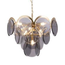 Nordic design luxury decoration led pendant lamp glass pendant lamp for hotel home