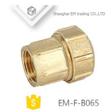 EM-F-B065 Kupfer Material Spanien Union weibliche Gewinde Kompression Joint Rohr