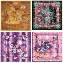 Heißer Verkauf druckt Frauen Mode Schal (F-005)