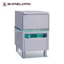 K151 Under counter Lavatório de vidro de aço inoxidável