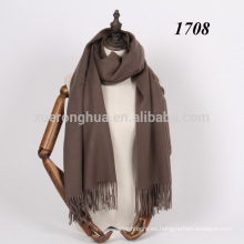 Mantón grueso de la lana del bordado de Mongolia Interior