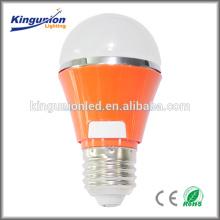 CE Rohs certificado UL Aluminio cuerpo LED bombilla luz regulable esposa RF controlador