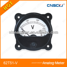 Novel design analog voltmeter panel meter