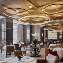 Modern Luxury Glass Chandeliers Ceiling Lighting Large Pendant Lamp Reception Living Room Chandelier Hanging Fixture