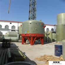 FRP no tanque químico do local