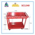 carrinho de plataforma de aço inoxidável de 300kgs