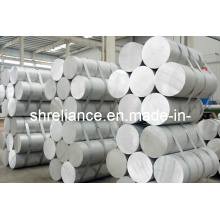 6061/6082 Barres d'extrusion en aluminium / aluminium pour usinage de pièces