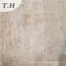 Kaffee Chenille Uphostery-Gewebe für Stuhl und Möbel durch 385GSM