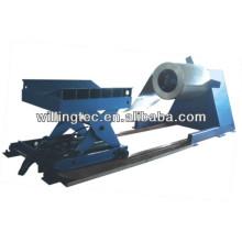 Desensiladora hidráulica automática con brazo de prensado