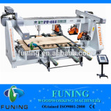 double end four side woodworking saw cutting machine