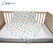 Custom Organic Security Cotton Crochet Muslin Baby Blanket