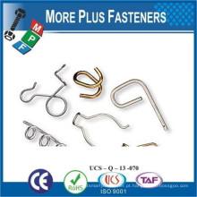 Fabricado em Taiwan, peças de formato de fio de metal feito sob medida de alta qualidade