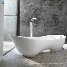 Sanitary ware artificial stone soaking hydrotherapy home spa high-heeled shoe bathtub
