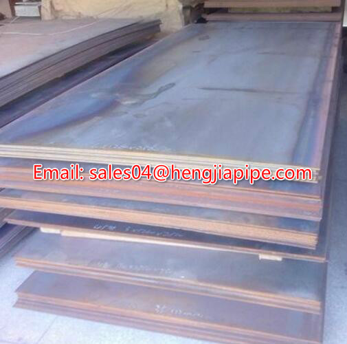 cold rolling steel plate