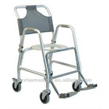 Transfer shower commode chair
