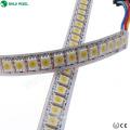 12 mm programable 144 píxeles / m smd5050 apa102c direccionable blanco Led tira de luz