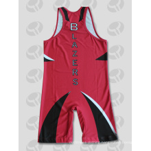2015 Fashion Sublimation Wrestling Singlet