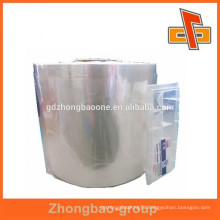 Low price super clear pvc film for shrinking package